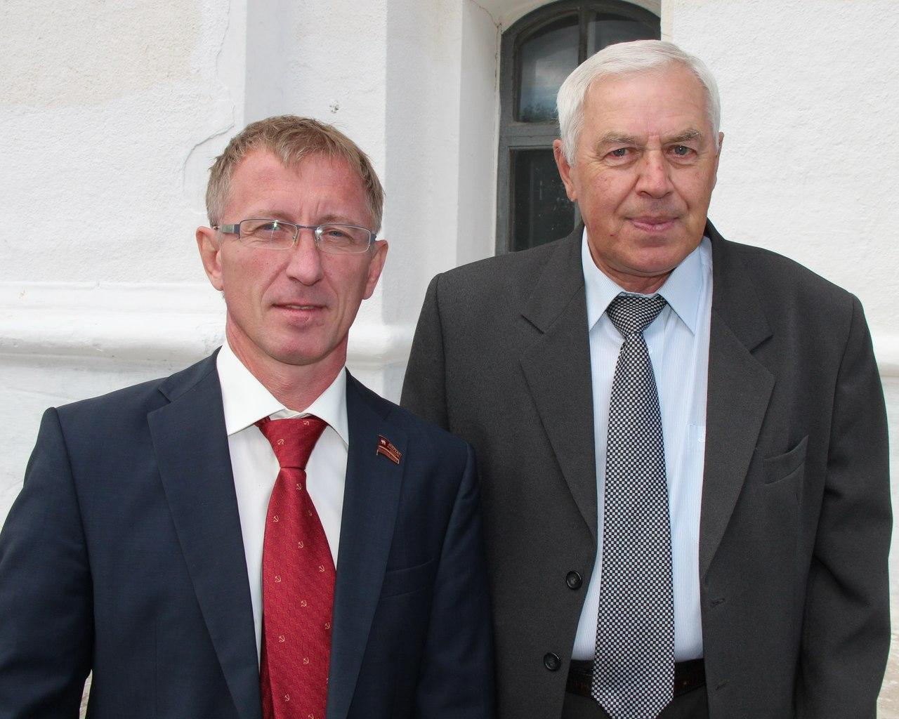 К. Нациевский и В. Баранников