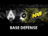 Base defense by Alliance vs NaVi @ D2CL V