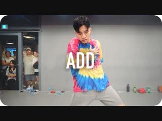 1million dance studio add - dwilly (ft. emilia ali) / jinwoo yoon choreography