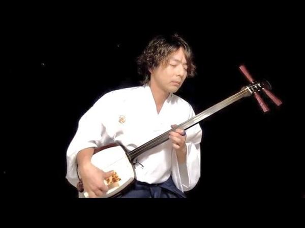 "Smooth criminal (Michael Jackson cover) Japanese shamisen player ""Masakatsu""雅勝"