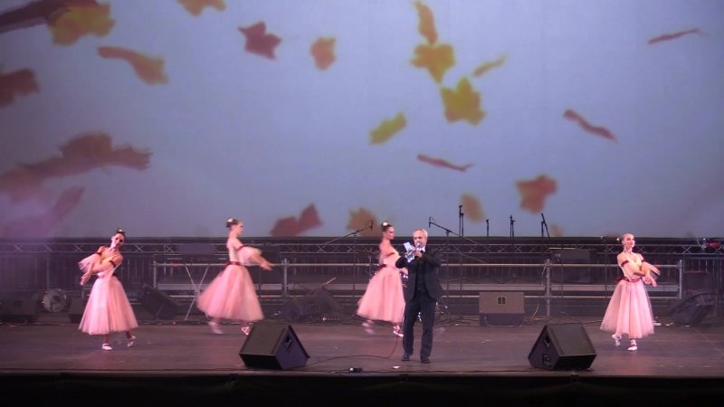 Михаил Хасин и шоу-балет Энерджи