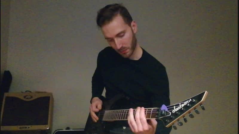 Гитарные фишки в стиле heavy metal