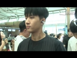 180706 VIXX Leo, Ken, Ravi, Hyuk on Incheon Airport @ Daily TV