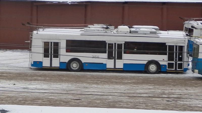 Московские троллейбусы переданные Йошкар-Оле по бесплатной основе в дар