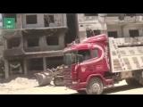 Сирия ФАН публикует видео восстановления окрестностей Дамаска