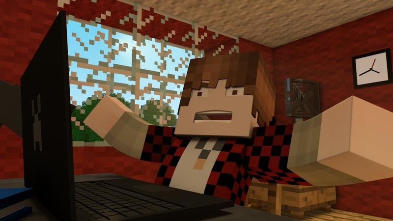 EPIC BajanCanadian rage - Minecraft Animation - Y-run parkour