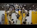 Танец роботов-манипуляторов MASHEX 2013