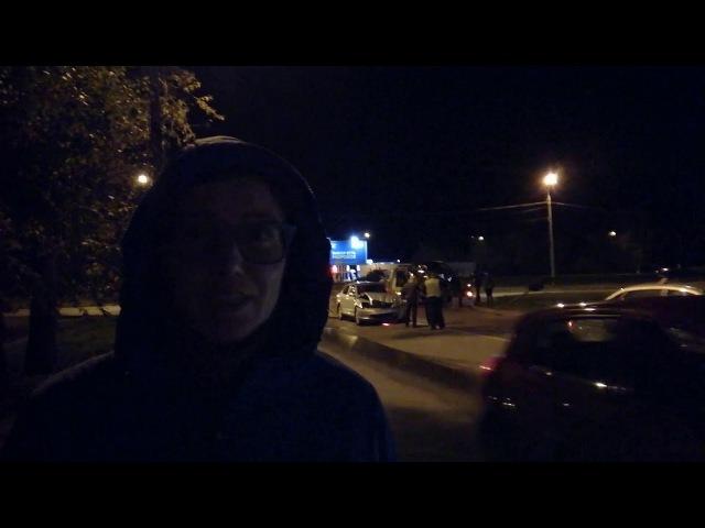 Особо опасный перекресток, Великий Новгород, очередная авария 10.09.2017