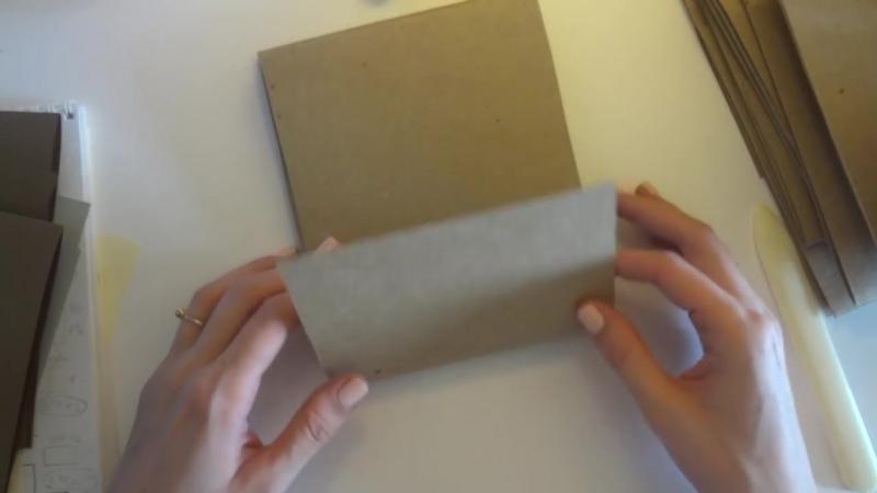 Скрапбукинг альбом, осенний 1 - Скрапбукинг мастер-класс - Aida Handmade