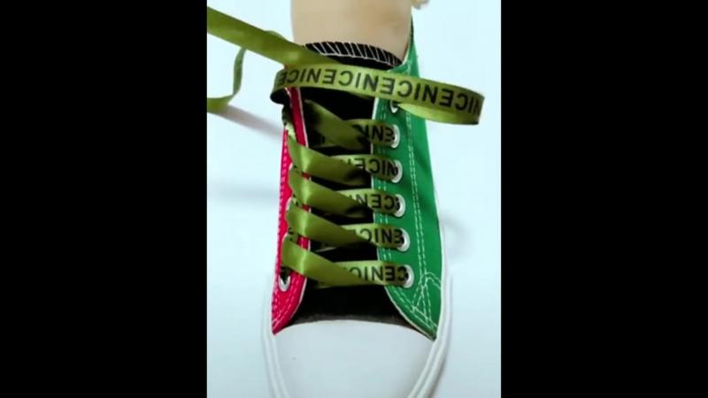 Красиво и просто шнуровать обувь (25 способов) LACE SHOES - 25 cool ideas how to tie shoe laces