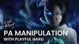 Playful Haru as Phantom Assasin   Photoshop Speed Art