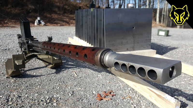20mm Anti Tank Lahti vs 16 Steel Plates!