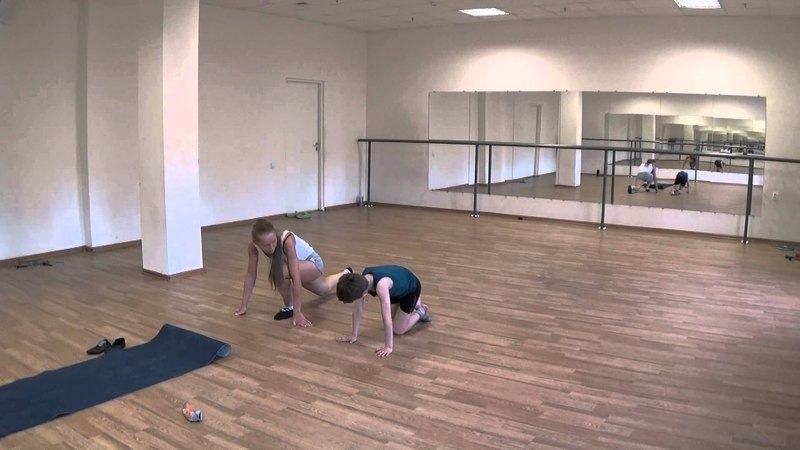 Урок хореографии для фигуриста. Часть2