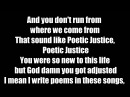 Kendrick Lamar - Poetic Justice (LYRICS) ft. Drake