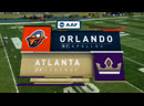 AAF 2019 / Week 07 / Orlando Apollos - Atlanta Legends / EN