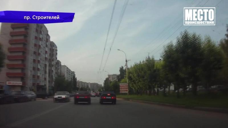Видеорегистратор Вывернуло колесо 05 09 2018