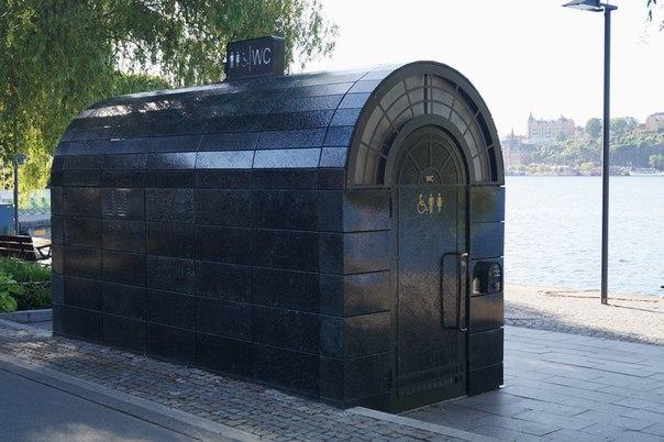 Общественный туалет в Швеции