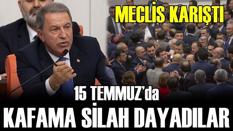 Hulusi Paşa CHP'li Özgür Özel'e Ağzının Payını Veriyor Kafama Silah Dayadılar
