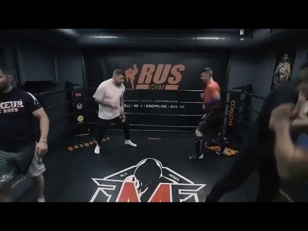 Баста открыл свой бойцовский клуб Рэп Волна
