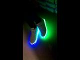 Ботинки Escan светодиодная подсветка подошвы.