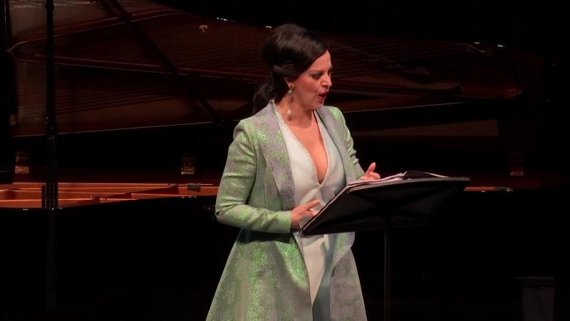 Wiener Staatsoper - Solistenkonzert Angela Gheorghiu (Вена, 07.03.2018) - I отделение