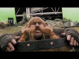 A sneak-peak at the making of the Barrel Scene in The Hobbit: The Desolation of Smaug