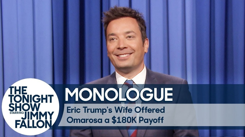 Eric Trump's Wife Offered Omarosa a $180K Payoff - Monologue