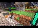 Minecraft. Выживание в бутылке №3 Эпичное нападение на деревню!