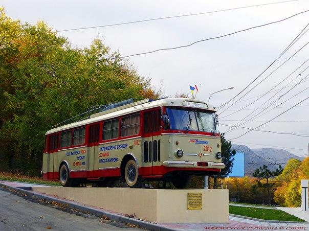 троллейбус в будущем,