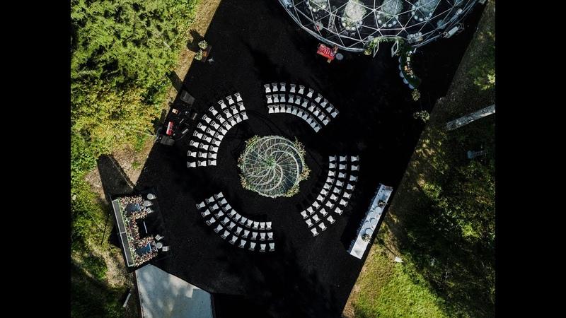 NeboDecor Свадьба в Москве Моя стихия Любовь 3D проект Свадьба 2017