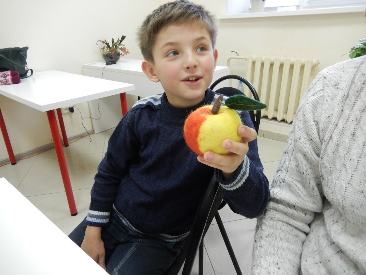 "Афиша Тамбов МК по мокрому валянию ""Шерстяное яблочко на елку"