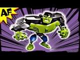 THE HULK Ultra Build 4530 Lego Marvel Avenger Super Heroes Stop Motion Review