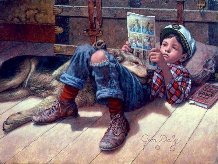Книги, в которых главные герои — мальчики