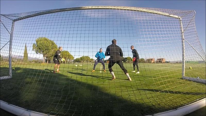 Keeper Training 2019, entraînement de gardiens...