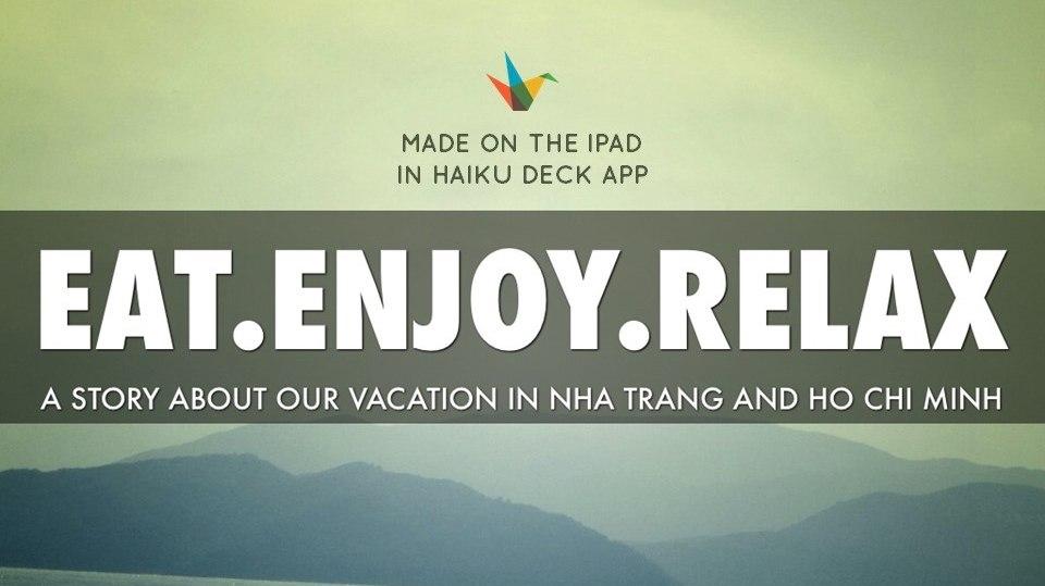 Советы об отдыхе во Вьетнаме. Презентация на Slideshare
