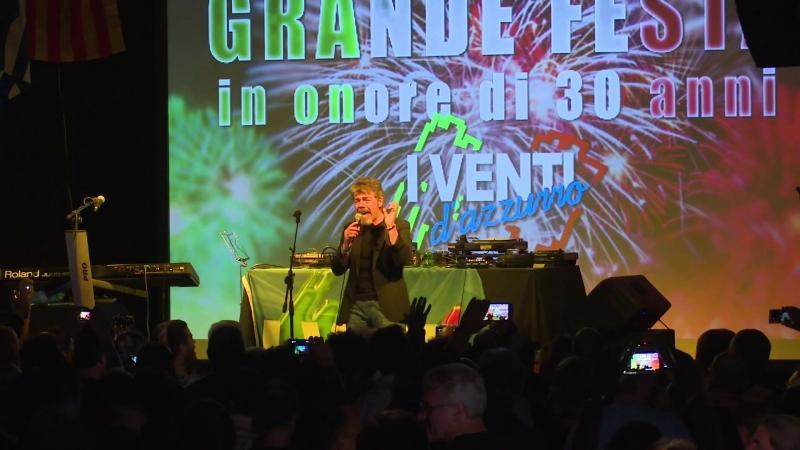 I Venti D'Azzurro 30 Anniversary Party! - Preformance Parte 4 [Live concert 7 may 2016] HD