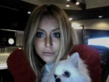 Aubrey O'day on Ustream live on 08/25/10 part 3/4
