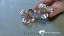 Hemmerle aluminum earrings presented at the TEFAF 2017
