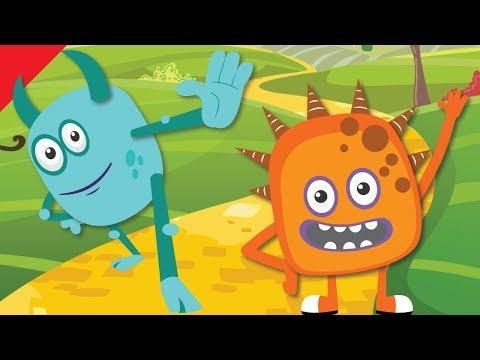 Stand Up, Sit Down | Actions Songs for Children | Kindergarten, Preschool ESL | Fun Kids English