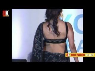Actresses in Sensuous Saree at Global Peace Initiative Fashion Show