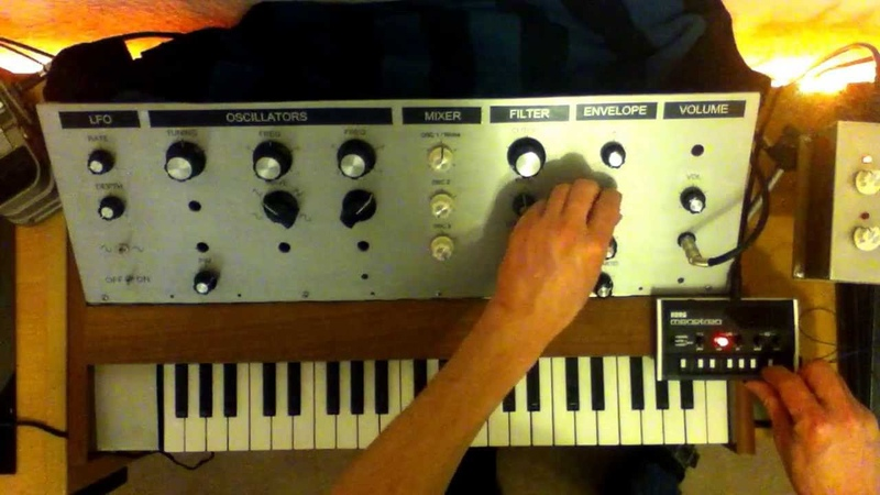 Acid-Techno on Home-Made Synth Equipment