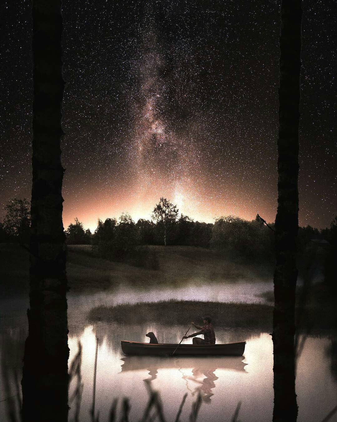 Звёздное небо и космос в картинках ISVTRI08Y5g