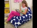 Как сделать кресло-мешок в детскую комнату