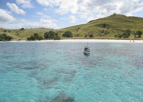Остров Комодо, Индонезия..