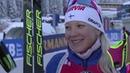 Хохфильцен-2018. Церемония награждения после женского спринта (13.12.2018)