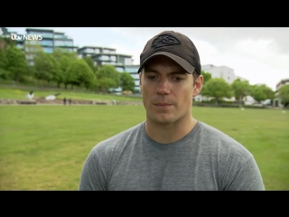 Superman Henry Cavill returns home to Jersey to support wildlife charity _ ITV News