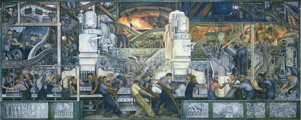 Мурализм. Мексиканская монументальная живопись