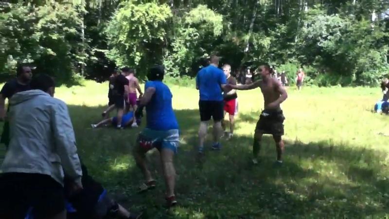 11.08.2013. Clowns Band проверка(кб) vs Benny Band(бг), 8х8, 1.37 мин, победа (кб)