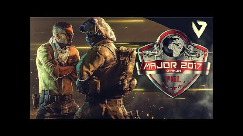 CS:GO - PGL MAJOR Krakow 2017 (Fragmovie)