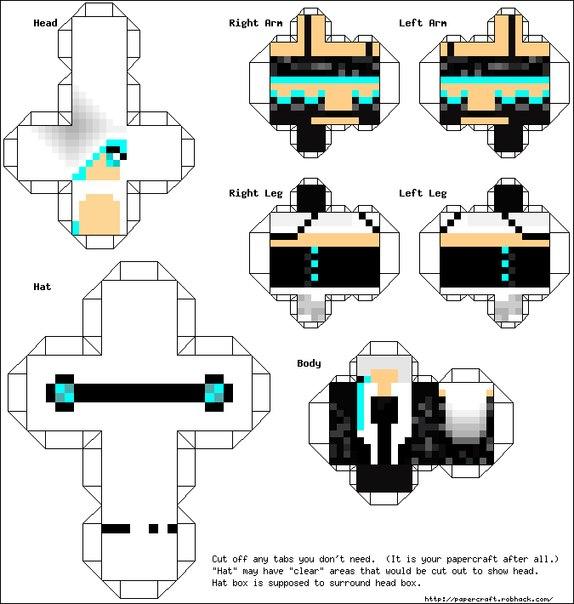 Майнкрафт как сделать из бумаги распечатать